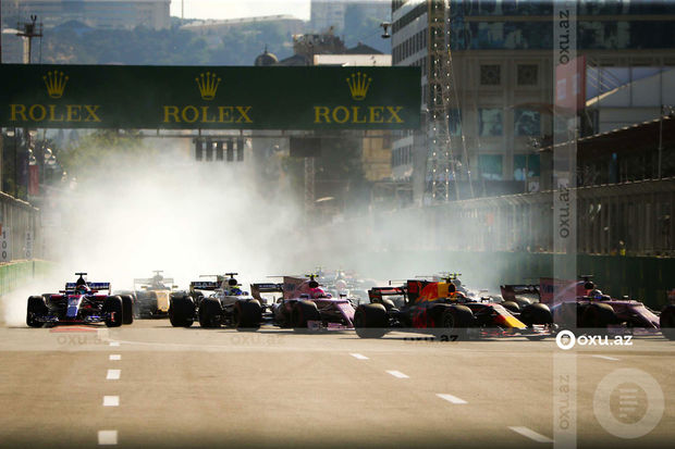 """""""Formula-1""""in Bakıdakı yarışının dəqiq vaxtı bilindi"""